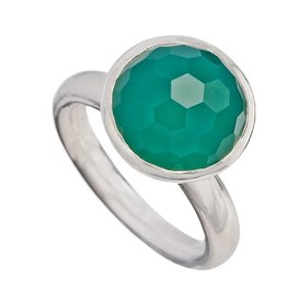 Shamila Jiwa SJ Cosmic Green Onyx Ring