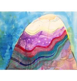 "Liz Tran Liz Tran SOLO ONE 22.5 x 30"" painting on paper"