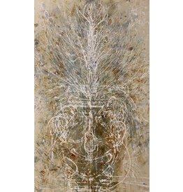 "Curt Labitzke Curt Labitzke SPRING VASE 66 x 40"" acrylic painting on canvas"