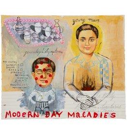 "Hibiki Miyazaki Hibiki Miyazaki MODERN DAY MALADIES 15 X 18"" mixed media on paper"