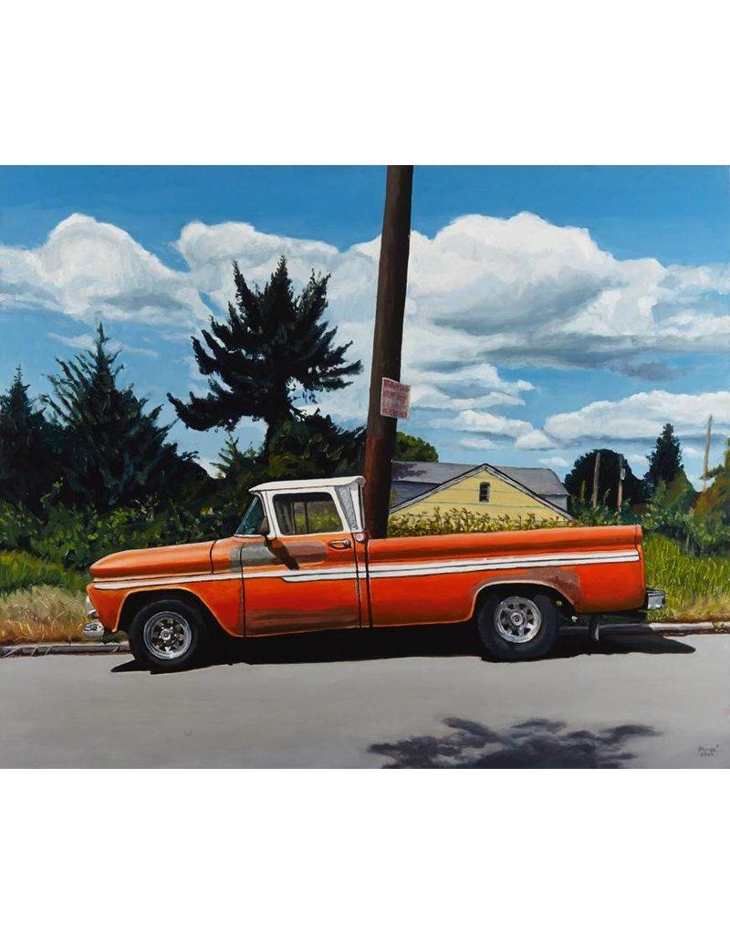Rachel Maxi Rachel Maxi 1965 C20 CHEVY PICK UP 26 X 31.5 oil on panel