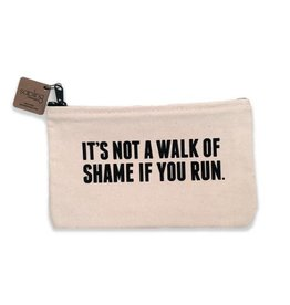 Sapling Press It's Not A Walk Of Shame If You Run Pouch