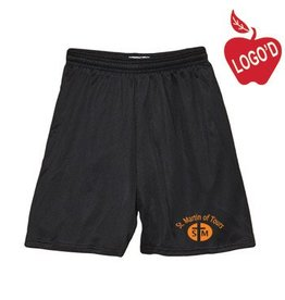 Soffe Black Mesh Athletic Shorts #058