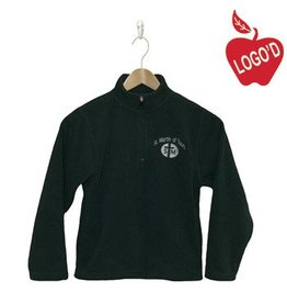 Elder Green Half Zip Microfleece Jacket #1000