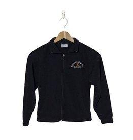 Elder Navy Blue Full Zip Fleece Jacket #1001