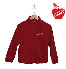Elder Red Full Zip Microfleece Jacket #1001