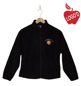 Elder Black Full Zip Microfleece Jacket #1001