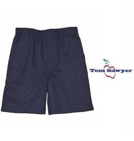 Elder Navy Blue Pull-on Walk Shorts #1251JV