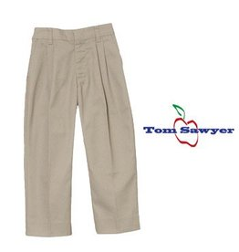 Elder Khaki Pleated Pants #1268
