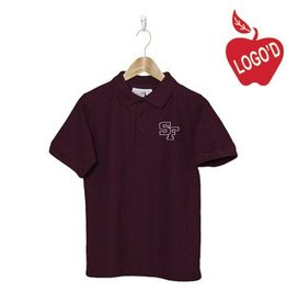 Elder Wine Short Sleeve Pique Polo #5738