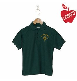 Elder Green Short Sleeve Pique Polo #5738