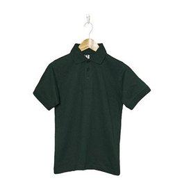 K12 Gear Green Short Sleeve Pique Polo #6338