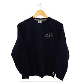 Russell Navy Blue Crew-neck Sweatshirt #998