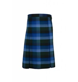 Rifle Douglas Plaid 4-pleat Skirt #134