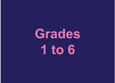 Grades 1 to 6