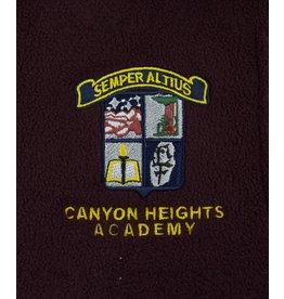 Charles River Wine Canyon Heights Nylon Hood Jacket - Old Logo