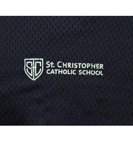 Champion Navy Blue Mesh Athletic Shorts #8732