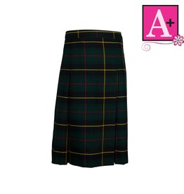 School Apparel A+ Aberdeen Plaid 4-pleat Skirt #1034PP