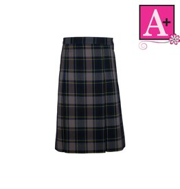 School Apparel A+ Daulton Plaid 4-pleat Skirt #1034PP