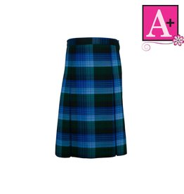 School Apparel A+ Douglas Plaid 4-pleat Skirt #1034PP