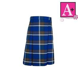 School Apparel A+ Graham Plaid 4-pleat Skirt #1034PP