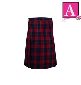 School Apparel A+ Wexford Plaid 4-pleat Skirt #1034PP