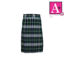 School Apparel A+ Christopher Plaid 4-pleat Skirt #1035PP