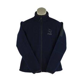 Embroidered R17 Navy Blue Full Zip Fleece