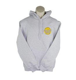 Screenprinted L17 Ash Grey Pullover Hood Sweatshirt