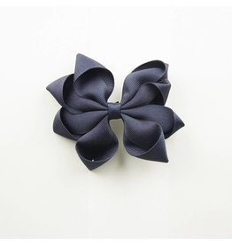 EE Dee Trim Navy Blue Carnival Bow #FBE66