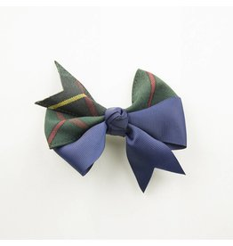 EE Dee Trim Aberdeen Plaid #5L Ribbon Bow #FBE197