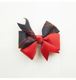 EE Dee Trim Cambridge Plaid #6B Ribbon Bow #FBE197
