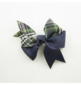 EE Dee Trim Campbell Plaid #61 Ribbon Bow #FBE197