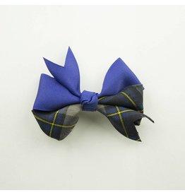 EE Dee Trim Daulton Plaid #87 Ribbon Bow #FBE197