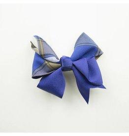 EE Dee Trim Graham Plaid #73 Ribbon Bow #FBE197