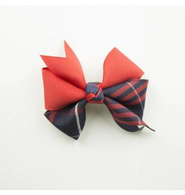 EE Dee Trim Hamilton Plaid #36 Ribbon Bow #FBE197
