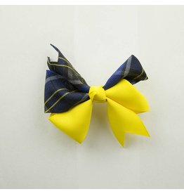 EE Dee Trim Mayfair Plaid #92 Ribbon Bow #FBE197