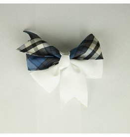 EE Dee Trim Rampart Plaid #29 Ribbon Bow #FBE197