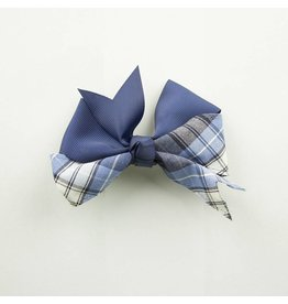 EE Dee Trim RR Plaid #76 Ribbon Bow #FBE197