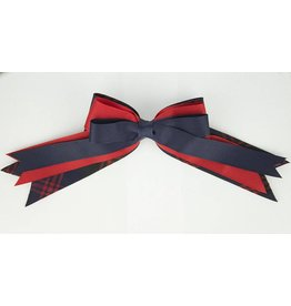 EE Dee Trim Cambridge Plaid #6B Triple Layer Bow #FBE189