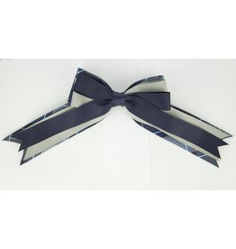 EE Dee Trim Dunbar Plaid #82 Triple Layer Bow #FBE189