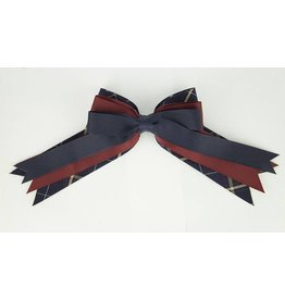 EE Dee Trim Melrose Plaid #6A Triple Layer Bow #FBE189