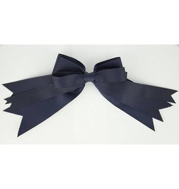 EE Dee Trim Navy Blue Triple Layer Bow #FBE189