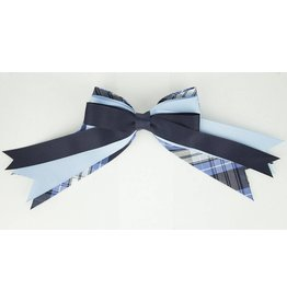 EE Dee Trim RR Plaid #76 Triple Layer Bow #FBE189