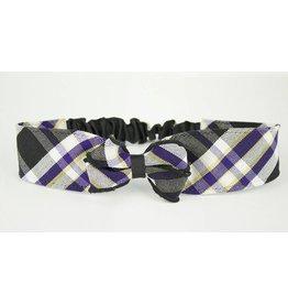 EE Dee Trim Plymouth Plaid #2M Headband #FBE157