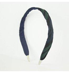 EE Dee Trim Blackwatch Plaid #79 Headband #FBE8