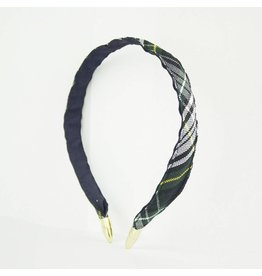 EE Dee Trim Campbell Plaid #61 Headband #FBE8