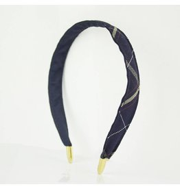 EE Dee Trim Melrose Plaid #6A Headband #FBE8