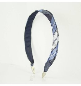 EE Dee Trim RR Plaid #76 Headband #FBE8