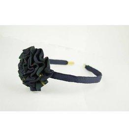 EE Dee Trim Belair Plaid #83 Rosette Headband #FBE13HB